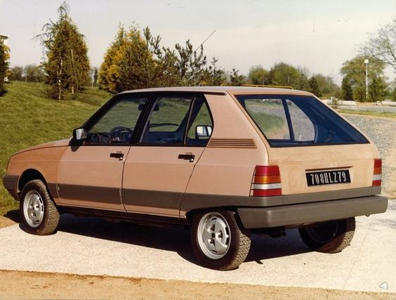 OG | 1981 Citroën Visa Mk2 | Full size mock-up from Heuliez