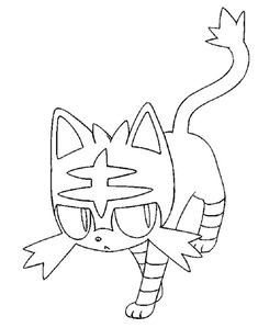 Inspirational Litten Coloring Pages Moon Coloring Pages Pokemon Coloring Pages Pokemon Coloring