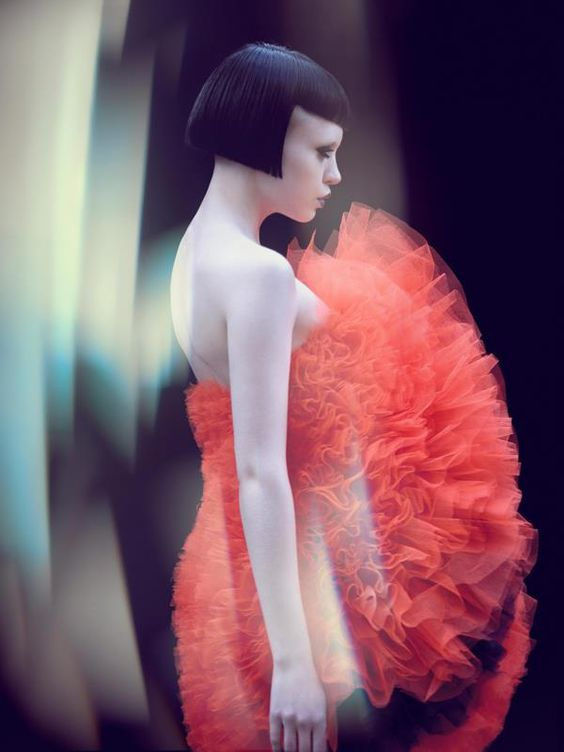 Hair: X-PRESION CREATIVOS and SACO - Makeup: Abigail Johnson - Wardrobe: Nafisa Tosh - Photography: Gustavo Lopez Mañas