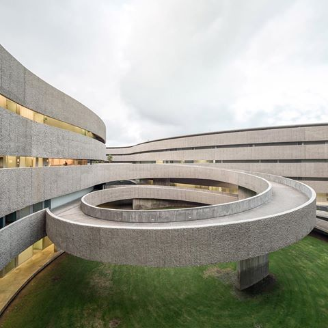 GYP Arquitectos' Faculty of Fine Arts for the University, located Northeast of…