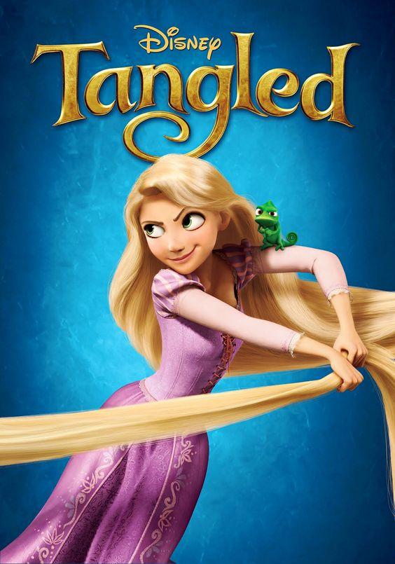 Tangled Rapunzel Hot | Poster of Walt Disney Pictures' Tangled (2010)