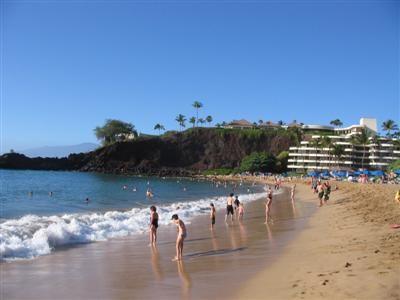 Sheraton and Blackrock, Maui, Hawaii
