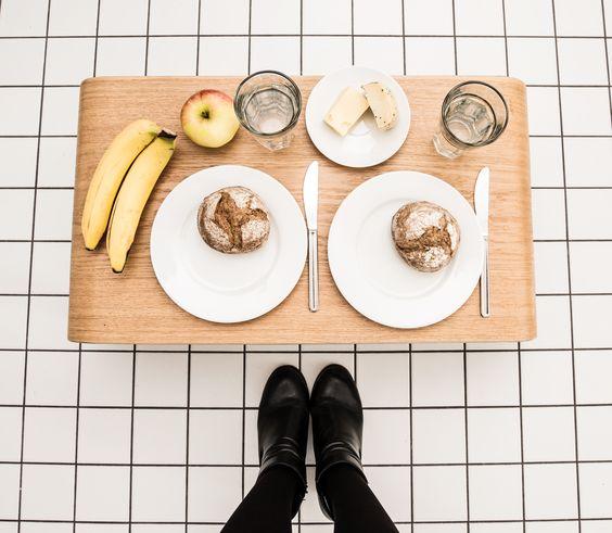 JUNGHOLZ // #oak #wood #EDC #Table // #walnut #home #Interior #beistelltisch #jungholz #design #table #wood #furniture #breakfast