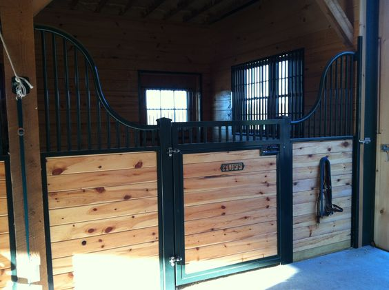 Low rise Kimberwick horse stall from Classic Equine Equipment