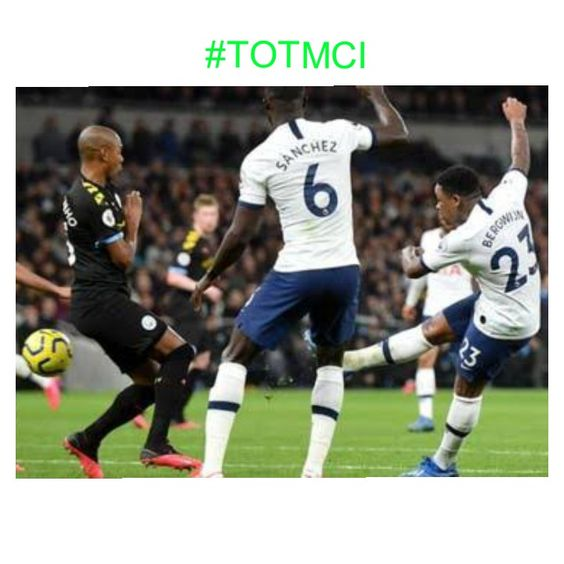 Tottenham Vs Manchester City 2 0 Highlights Video In 2020 Manchester City Tottenham Premier League