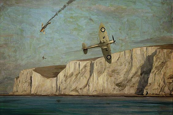 Battle Of Britain Over Dover ©Nop Briex