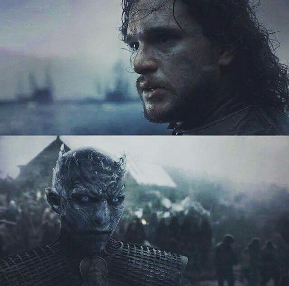Jon Snow and King Crow - Hardhome - Season 5 Episode 8