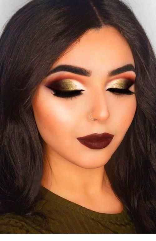 Christmas Eyeshadow Looks 2020 Christmas Eyeshadow Looks in 2020 | Fall makeup looks, Holiday