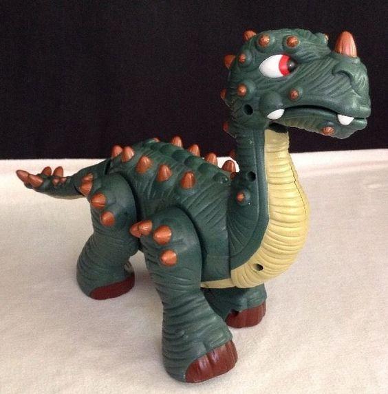 Fisher Price - 2008 Spike Jr., Ultra Walking/ Roaring Dinosaur [Batt. Inc] (EUC) #FISHERPRICE