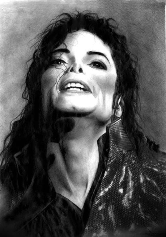 Michael Jackson Pencil