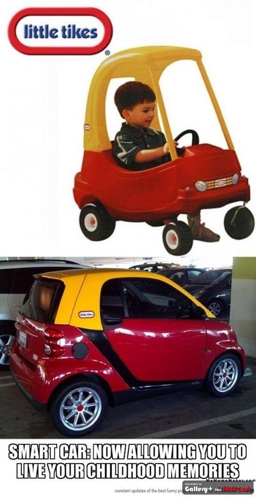 Smart Car - living the childhood dream