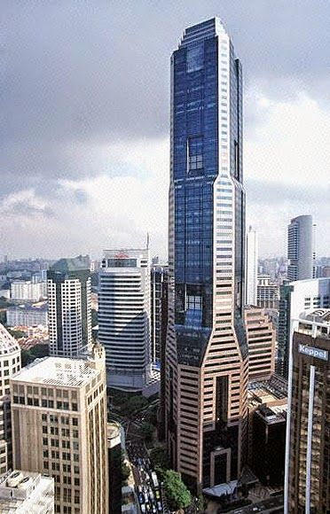 Top 10 tallest buildings in singapore the tower info - Singapore tallest building swimming pool ...