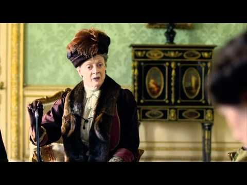 Ten great moments with Maggie Smith as the Dowager Countess. Enjoy! #DowntonAbbey