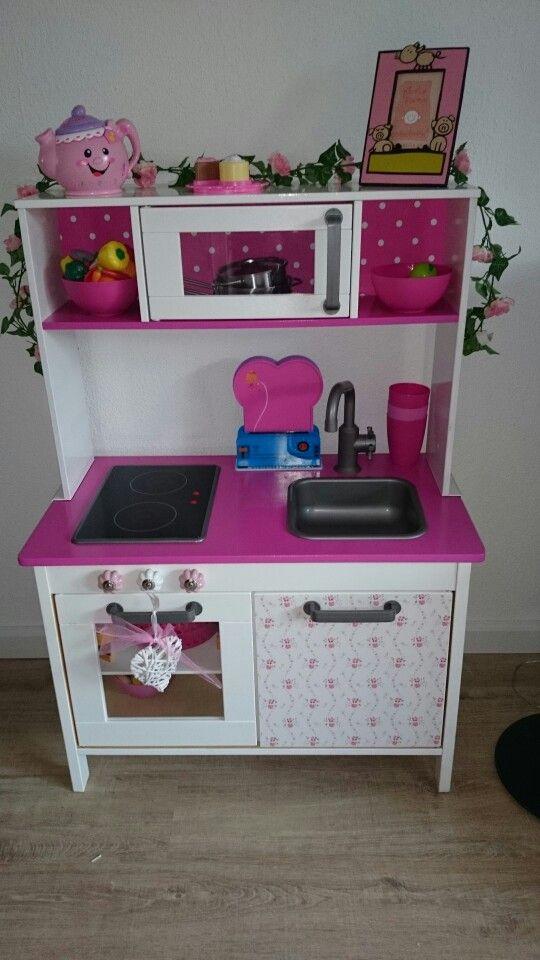 keukentje gepimpt littlegirlsroom pinterest ikea. Black Bedroom Furniture Sets. Home Design Ideas