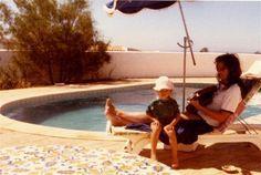 David Coverdale & his daughter Jessica