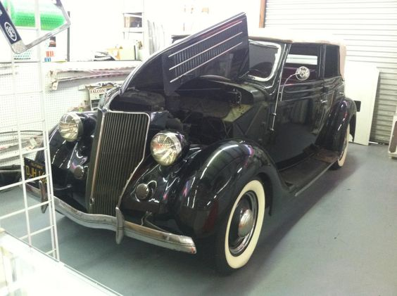 1936 Ford Fordor Convertible!
