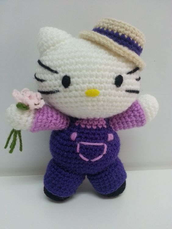 Tutorial Amigurumi Kitty : Tutorial amigurumi Hello Kitty - Ramo (mod-1) amigurumi ...