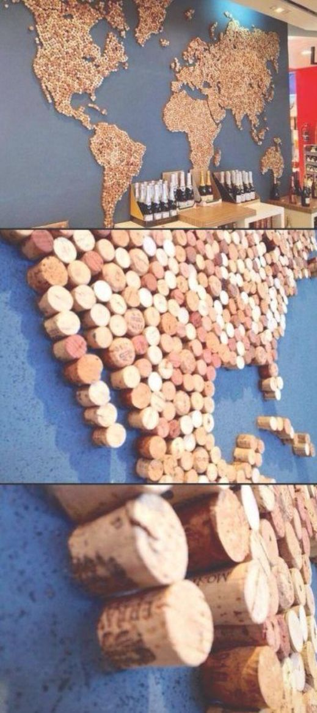 Cartina Mondo In Sughero.43 Diy Weinkorken Bastelideen Upcycle Weinkorken Zur Dekorkunst Diy Bastelidee Bastelidee Bastelideen Dekorkuns Idee Fai Da Te Tappi Di Sughero Idee