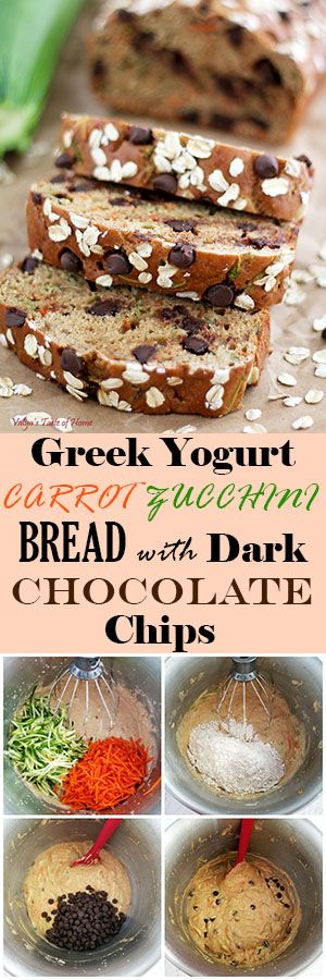 Easy, quick, and healthy bread recipe. I literally tossed all ingredients together in just a few minutes, split the batter into two bread pans, baked it, and it was ready to enjoy.