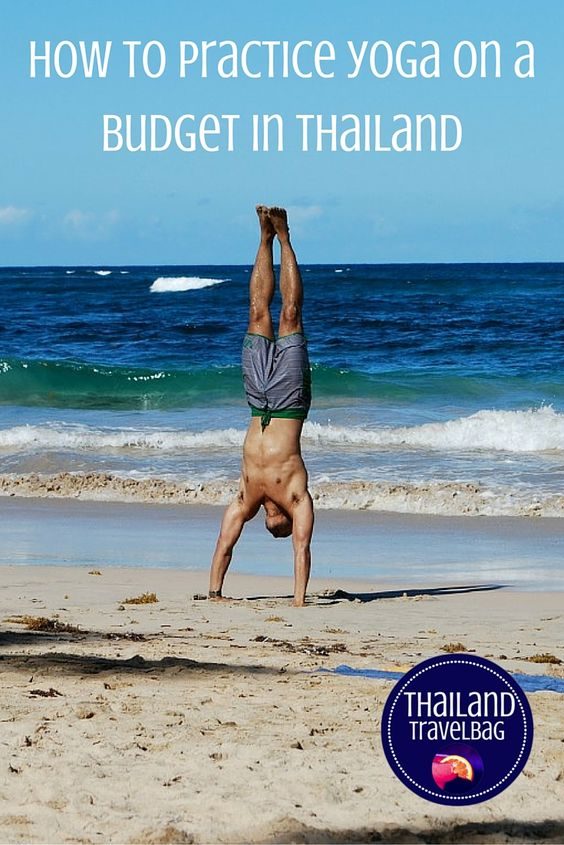 how to practice yoga and meditation on a budget in thailand