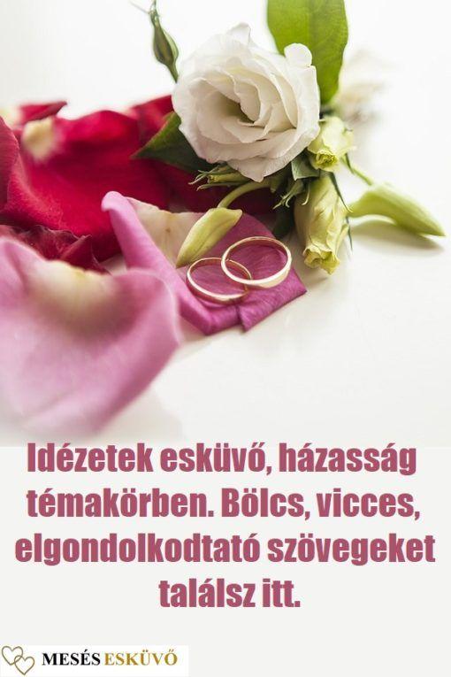 esküvői emlékkönyvbe idézetek 17 idézet esküvő, házasság témakörben. Bölcsek, viccesek