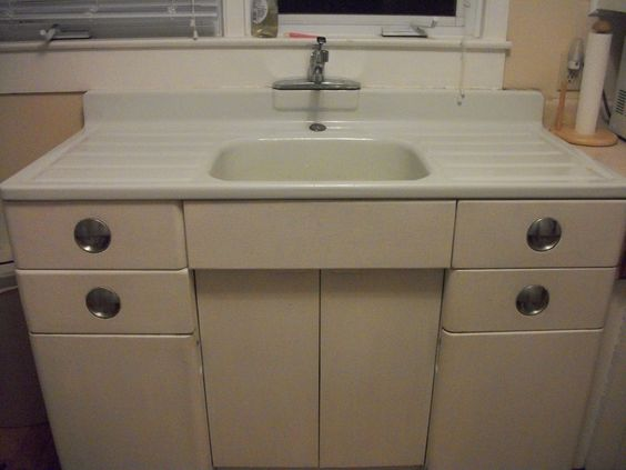 vintage kitchen sink cabinet metal kitchen cabinet and porcelain sink for 27988
