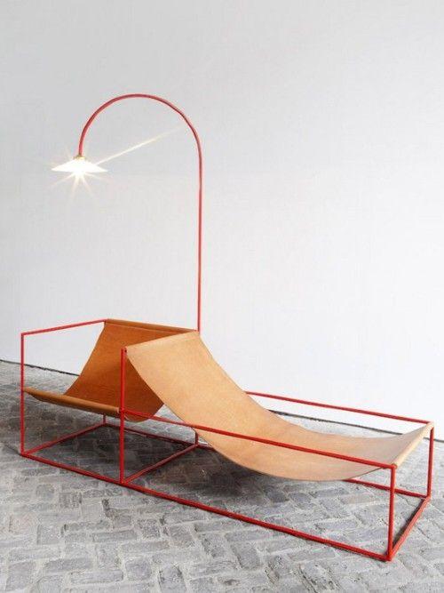 muhuhu:  Muller Van Severen Furniture Collection | #chaiselounge #metal #furniture #chair #minimalist