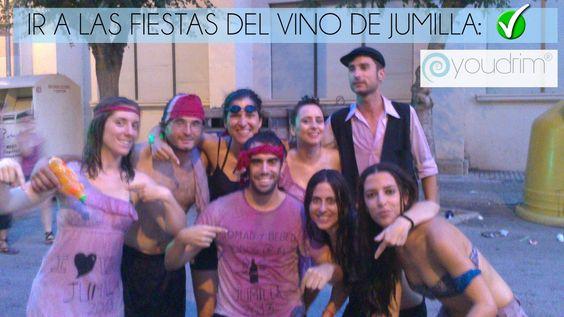 Ir a las fiestas del vino de Jumilla