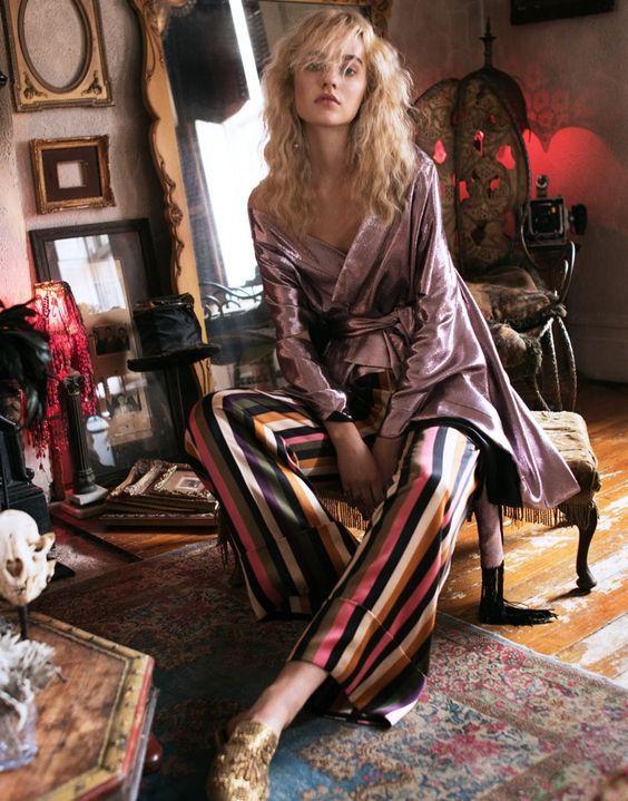 Maartje Verhoef is a Bohemian Vision in The Edit April 2018