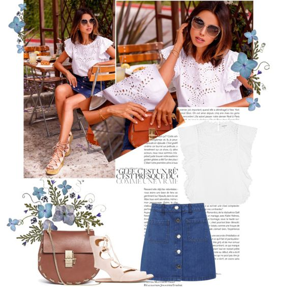 DREW DIARIES VIVALUXURY FOR CHLOE by sarapires on Polyvore featuring Étoile Isabel Marant, Miss Selfridge and Chloé