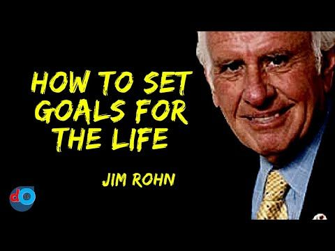 How To Set Goals For The Life Jim Rohn Youtube Online Therapy Setting Goals Jim Rohn