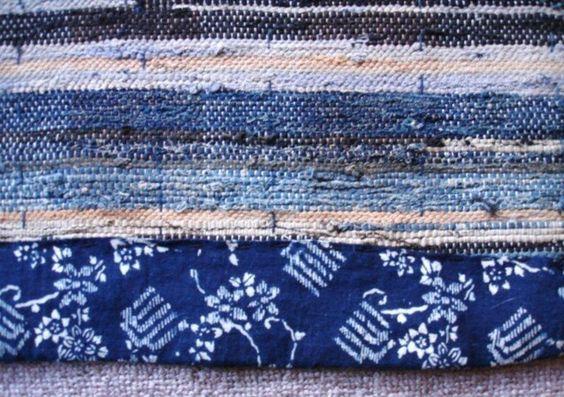 Sakiori Japanese Rug Weaving Japanese Antique Mingei