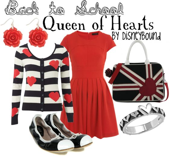 Queen of Hearts by lalakay, via Polyvore