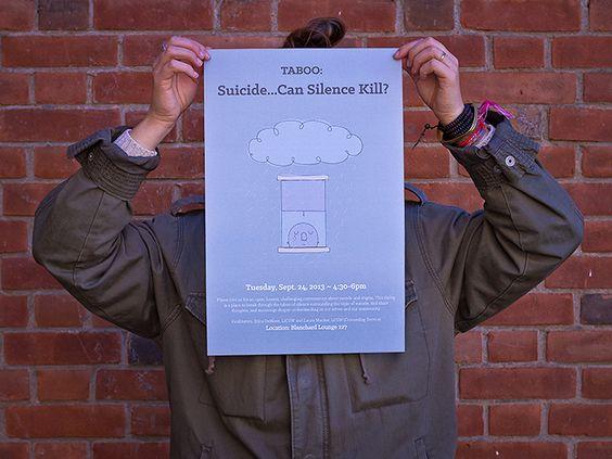 Taboo Posters - WE DESIGN STUDIOS - suicide