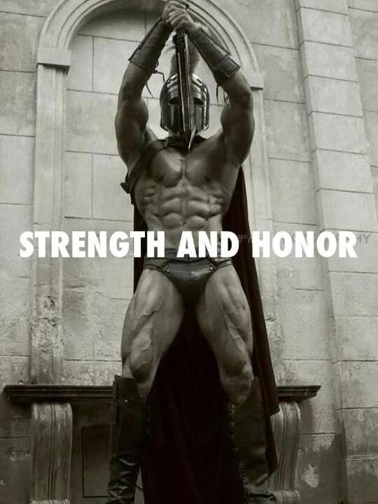 Strength and Honor- http://www.jackedpack.com