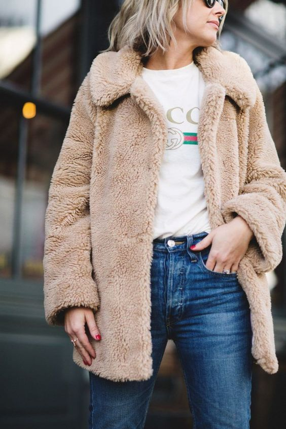 Winter | Teddy | Coat | Outfit | Inspo | Streetstyle