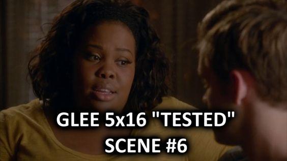 Glee Season 5 5x16 Scene #6 Tested Mercedes & Sam Talk About Having Sex