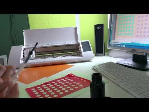 Silhouette Cameo: Schablone herstellen