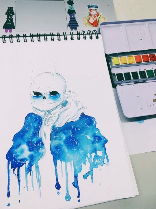 Undertale Trans And Pics Some Amazing Water Color Art Dessin