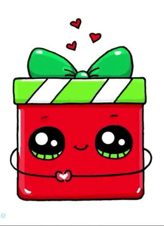Feliz Natal Feliz Natal In 2020 Cute Kawaii Drawings Cute Easy Drawings Kawaii Girl Drawings