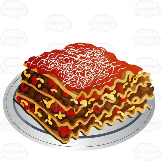 Large Piece Of Meat Lasagna Italian Products And Cuisine