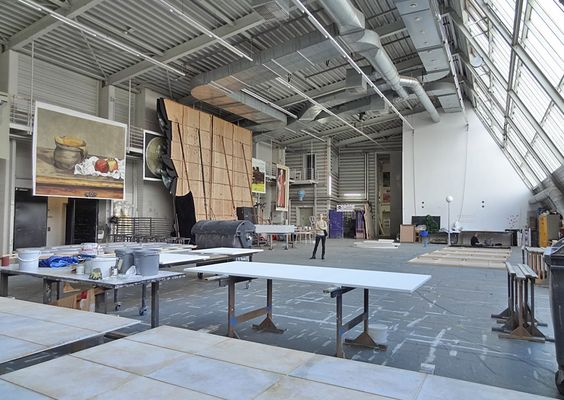 Der Malersaal im Theater #Bremen. http://blog.bremen-tourismus.de/theater-bremen/