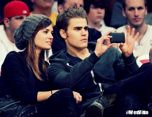 Paul Wesley and Torrey DeVitto ♥ #WesVitto