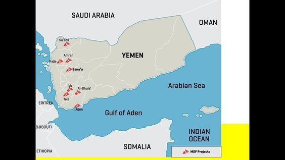 Saudi led coalition to reopen Yemen port, airport for humanitarian - fresh yemen in world map