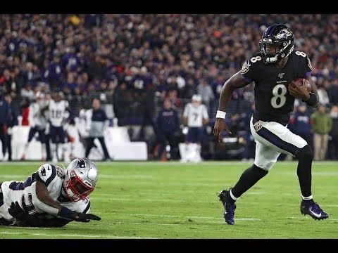 Top Notch Tickets Lamar Jackson 2019 Season First Half Highlights Lamar Jackson Baltimore Ravens Football Baltimore Ravens
