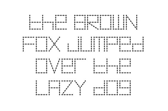 Morse Code Font by ankepanke on Creative Market Fonts - sample morse code chart