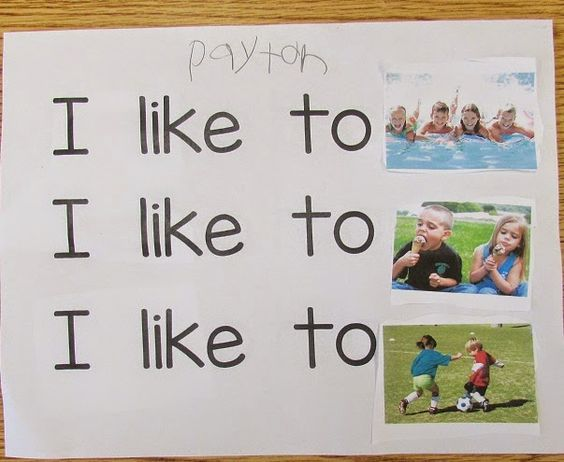 Kindergarten: Holding Hands and Sticking Together: FREE Sight Word/Environmental…
