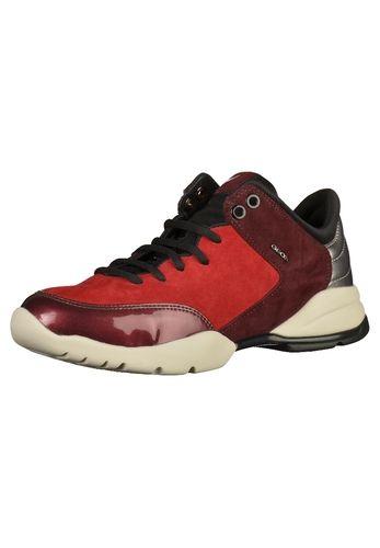 #GEOX #Damen #Sneaker #rot Tolle Sneaker mit schönen Akzenten. Der Schuh der…
