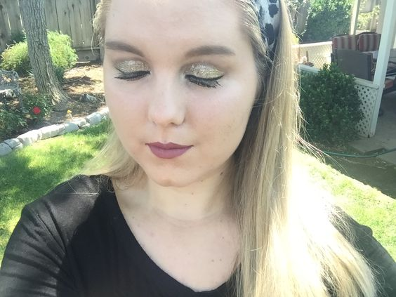 My prom makeup from last year! Done by me :)