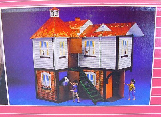 "Pedigree England Sindy 12"" Country Manor Huge Doll House Playset MIB`85 Top RARE | eBay"